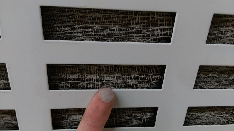 humidifier servicing