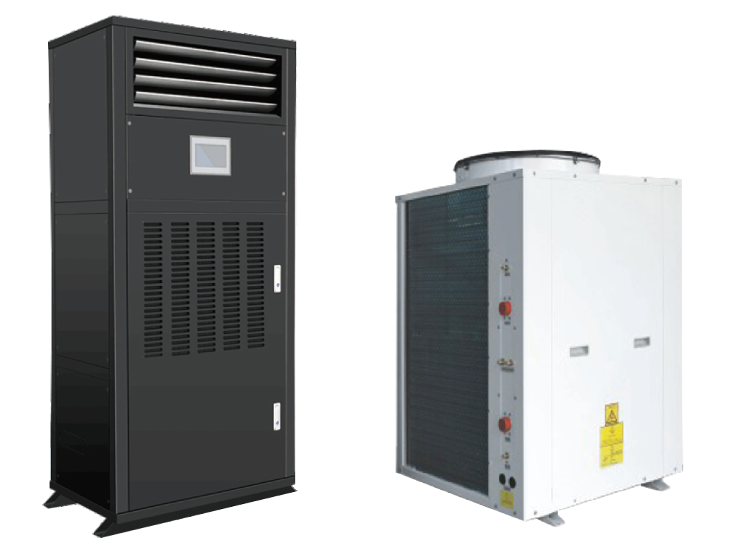 Dehumidifiers with Temperature Control